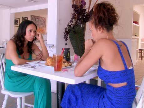 Draya and Gloria meet up again - it's been so long!