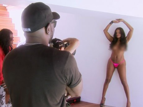Brooke has a sexy photo shoot - but why did Draya leave the set so suddenly?