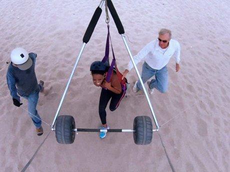 Malaysia goes hang gliding!