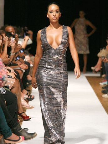 The Cast Of Basketball Wives L.A. Walks In Jackie Christie's Runway Show At New York Fashion Week