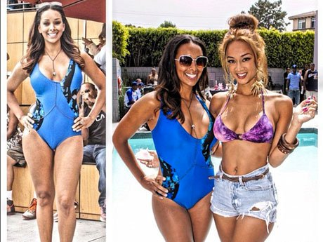 The Cast of Basketball Wives LA Make a Splash