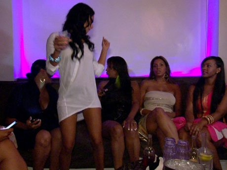 Draya dances it up at her BET party.