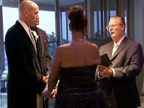 Jackie and Doug reaffirm their love for one another at their 16th wedding.