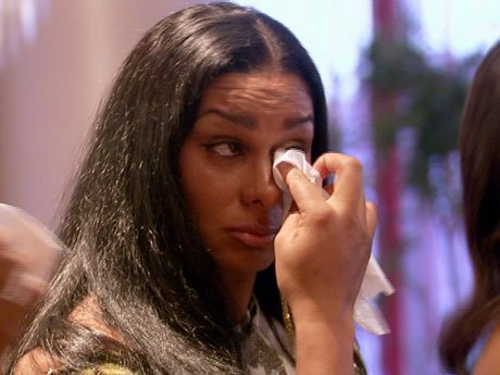 Pass the tissues! Laura gets emotional too.