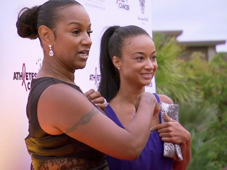 Oops! The paparazzi thought that Draya was Jackie's daughter!