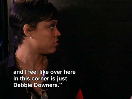 Do you think the girls were Debbie Downers.