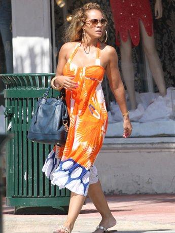 MIAMI, FL - FEBRUARY 20: Evelyn Lozada is sighted on February 20, 2011 in Miami, Florida.