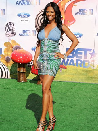 LOS ANGELES, CA - JUNE 26: TV Personality Jennifer Williams arrives at the BET Awards '11 held at the Shrine Auditorium on June 26, 2011 in Los Angeles, California.