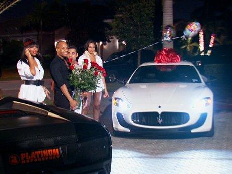 ...with a Maserati!