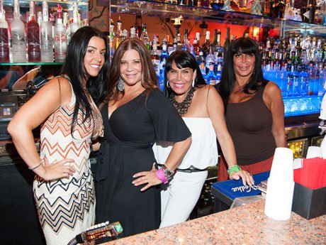 Big Ang & the Mob Wives Party at the Drunken Monkey