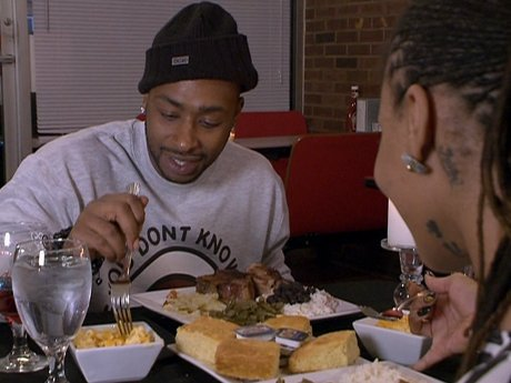 Dutchess and Ceaser have a romantic dinner date.