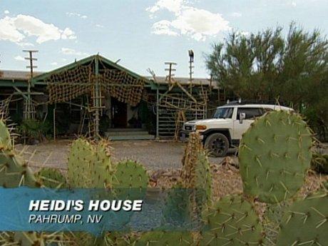 Heidi's home in no man's land.