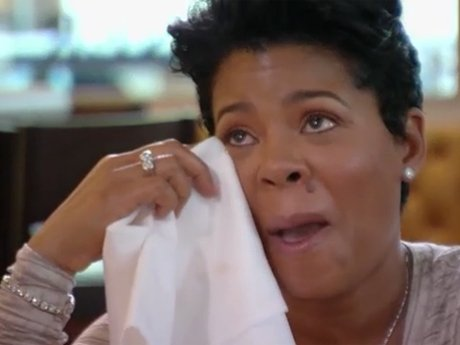 Chrissy gets emotional.