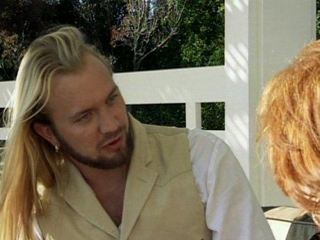 Charlie asks Linda's mother permission to marry Linda.
