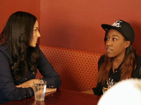 Sharon interviews T yanna  T Yanna Wallace