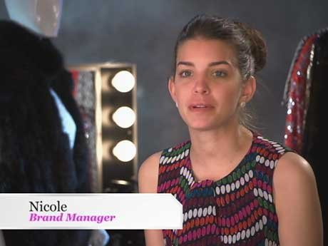 Nicole, also known as an ice queen, is also the company's brand manager.
