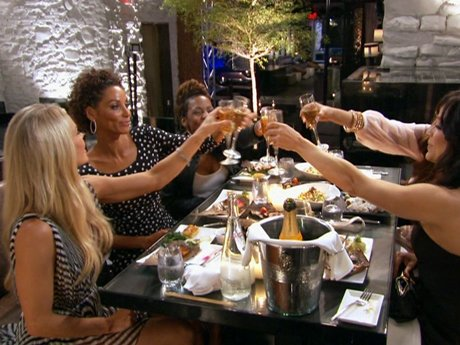 Cheers to the Hollywood Exes!