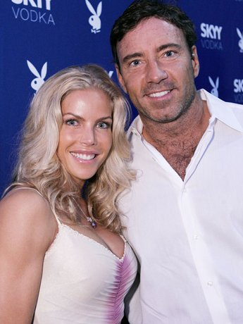 Jessica Canseco and Garth Fisher in July of 2006. [Getty Images]