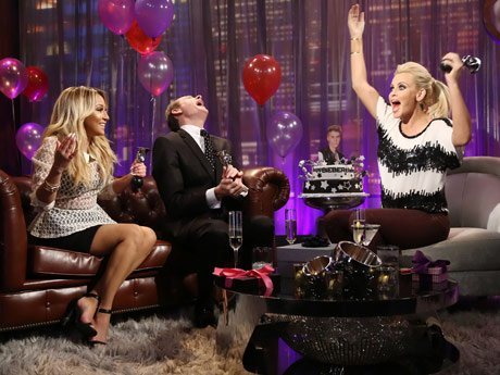 L to R: Adrienne Bailon, Carson Kressley and Jenny McCarthy
