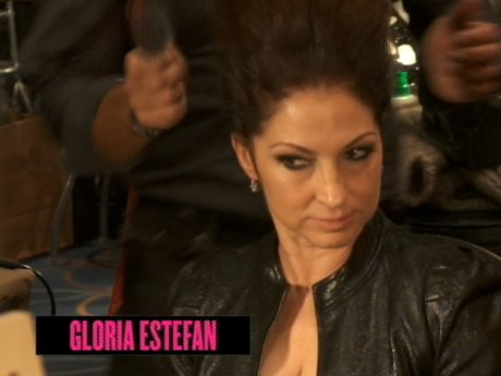 Stars like Gloria Estefan are also at the Fashion Week event.