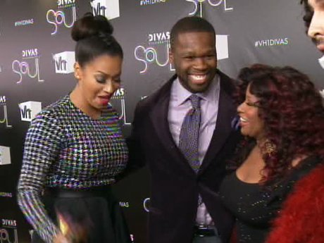 La La, 50 Cent, and Chaka Khan mingle!