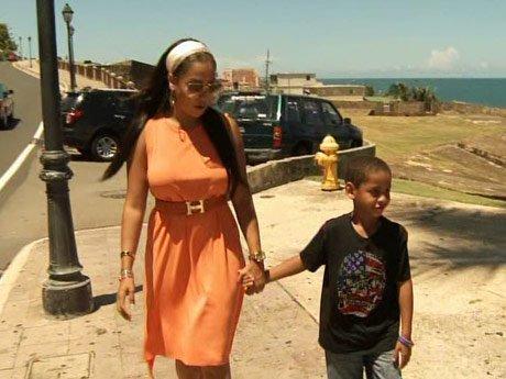 La La teaches Kiyan about their family roots.