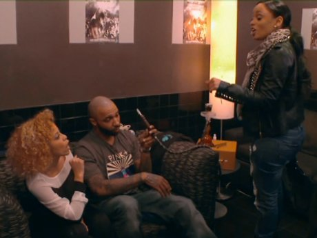 Tahiry and Kaylin come to blows.