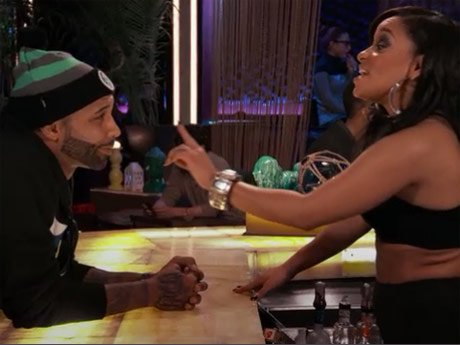 Tahiry gives Joe a piece of her mind.