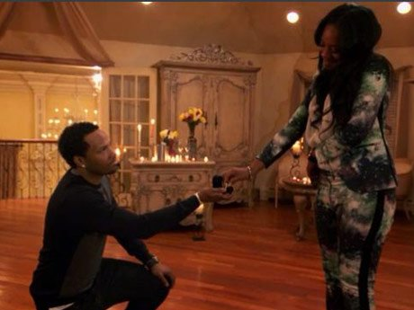 Mandeecees pops the question.