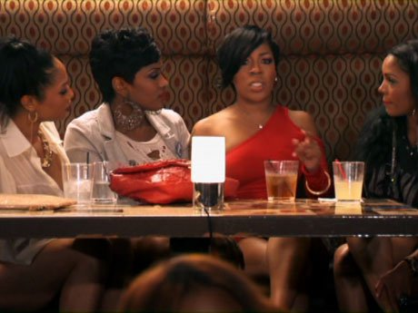 Rasheeda tells the women about Scrappy and Shay.