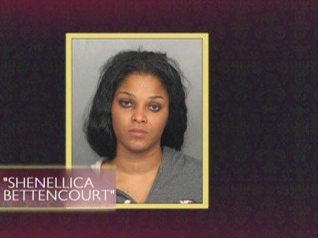 "Joseline ""Shenellica Bettencourt"" shows her mugshot."