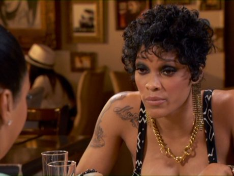 Joseline tries to set the record straight with Mimi.