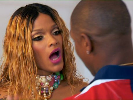 Stevie J tries to keep Joseline in check.