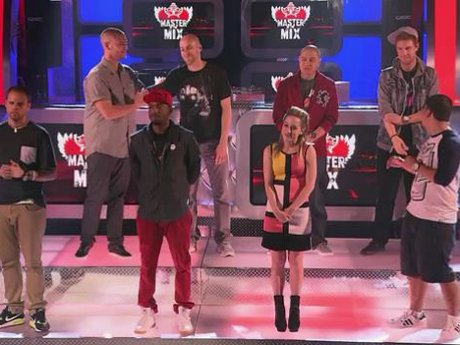 The remaining contestants celebrate surviving one more round.