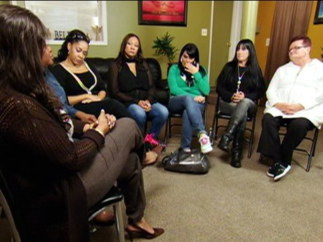 Renee seeks the help of a support group.