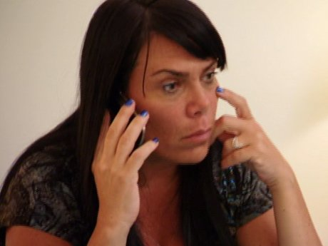Renee calls to check in on Drita before the hurricane.