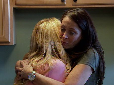 Nora tries to comfort Renee after her court hearing.