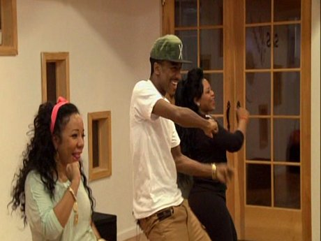 Tiny and Shekinah go to a dance class to brush up on some skills.