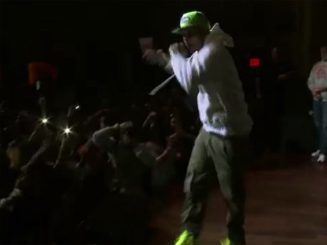 "T.I. performs ""Ball"" in Atlanta."