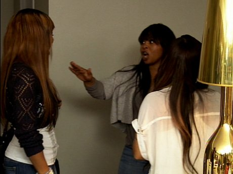 And the fighting continues between Tiny and Shekinah.