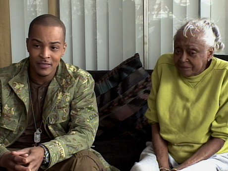 T.I. introduces the kids to Ms. Britton.