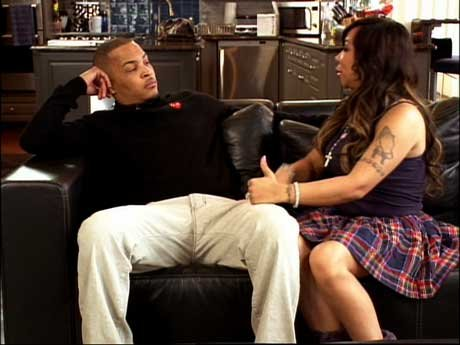 Tiny tries to talk to T.I. about being more understanding of Niq Niq. She's growing into a young woman.