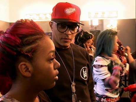 Not Suited For Children? The OMG Girlz have a video shoot and T.I. is not feeling it.