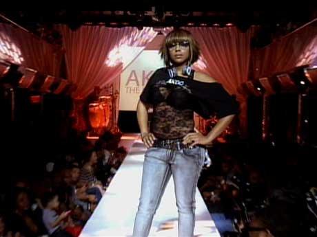 T.I. showcases his fashions.