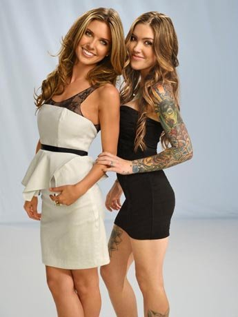 Audrina and her sister Casey.