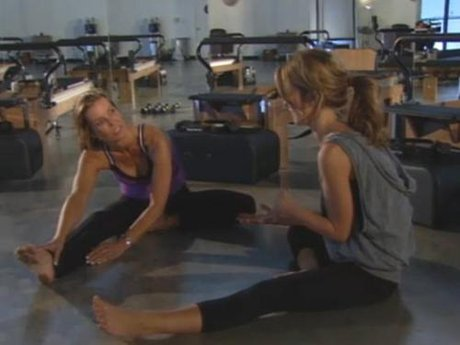 Audrina takes Lynn to a Pilates session and talks about what's going on with Casey.