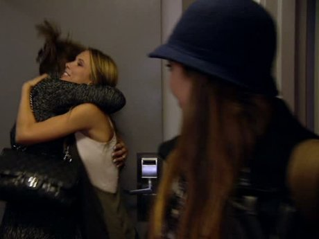 The Patridge ladies arrive in NYC