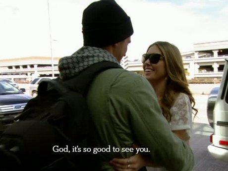Corey finally arrives in LA.