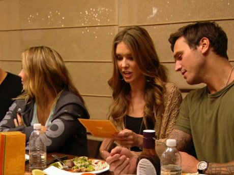 At dinner, while things get awkward, she receives an invitation to a Polo event.