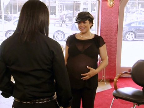 Elgin's pregnant client needs to get her groove back.
